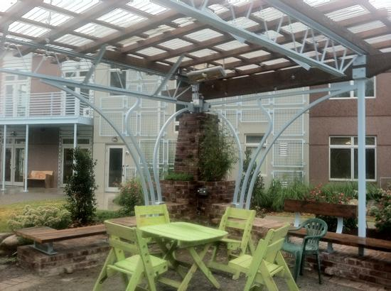 The Crash Pad: An Uncommon Hostel: crash pad patio