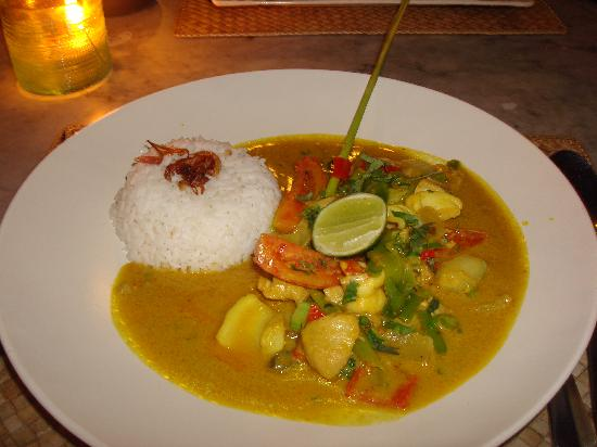 Nomad: plat curry coco