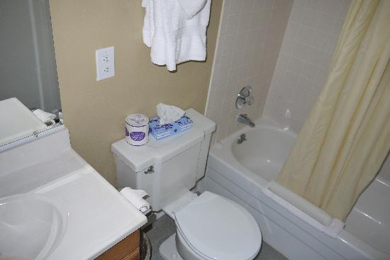 Ocean Shores Inn & Suites : Bathroom