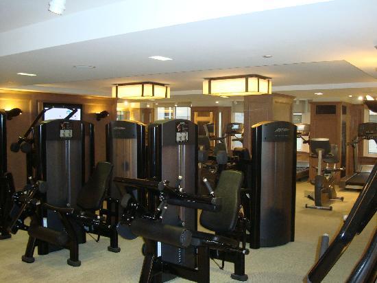 เดอะลอนดอนNYC: Hotel gym