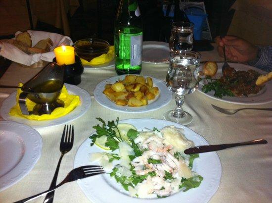 La Piazzetta : tischdekoration