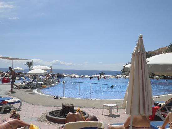 Hotel Riu Buena Vista: Vistas piscinas