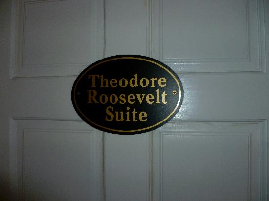 A Williamsburg White House Bed and Breakfast: Roosevelt room entrance