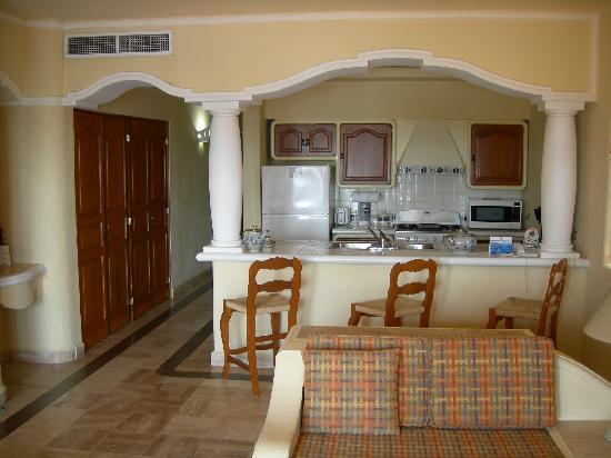 Torres Mazatlan Resort Kitchen
