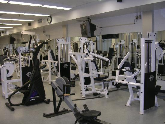 Nav Centre: gym