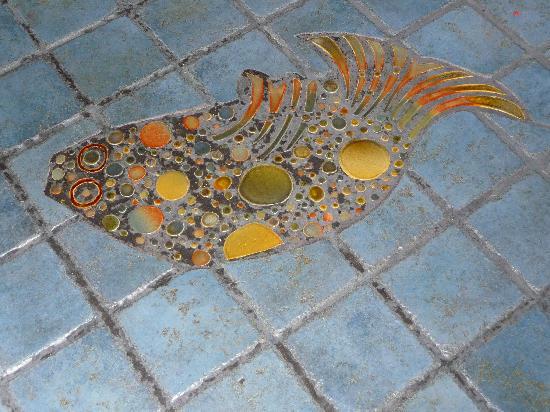 tile mosaic at kaya