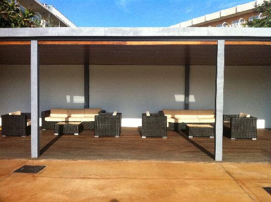Las Gaviotas Suites Hotel: Lounge area