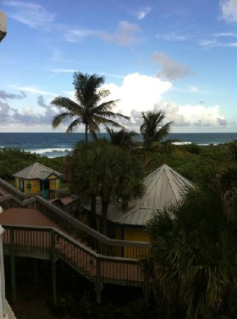 Hutchinson Island Marriott Beach Resort & Marina: view from my 2nd floor balcony