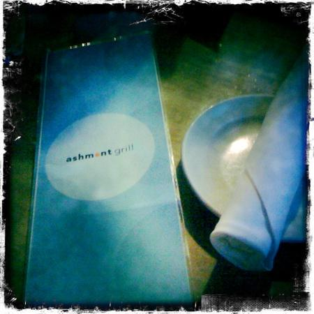 Ashmont Grill : menu