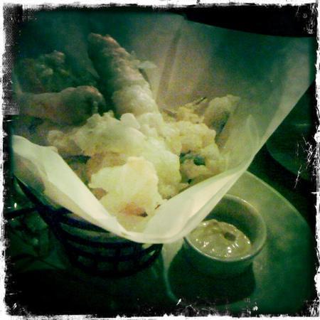 Ashmont Grill : vegetable tempura