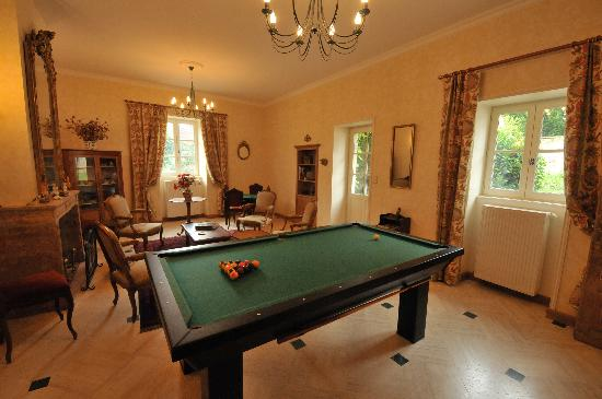 salon billard disposition picture of les epaux salornay sur guye tripadvisor. Black Bedroom Furniture Sets. Home Design Ideas