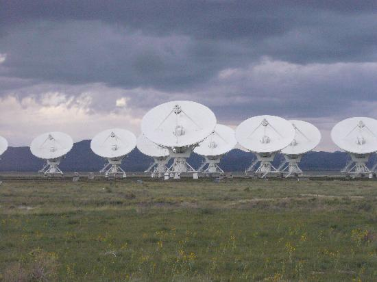 Very Large Array: dishes