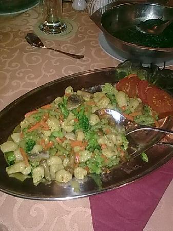 Anker: veggie meal