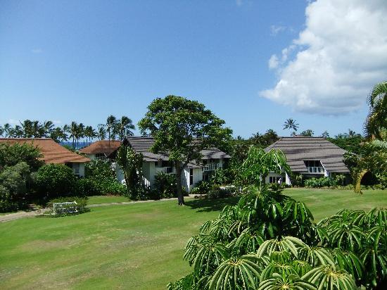 Kiahuna Plantation Resort: A view from the large balcony.