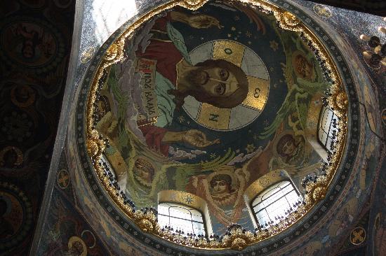 โบสถ์แห่งหยดพระโลหิตพระผู้ไถ่: the dome