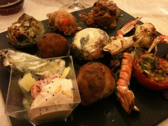 Ristorante Syrah: antipasto dello chef