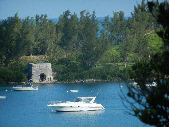 Grotto Bay Beach Resort & Spa: Overlooking Grotto Bay.
