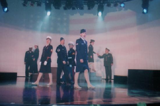 The Grand Majestic Dinner Theater: Remarkable Tribute to our Military