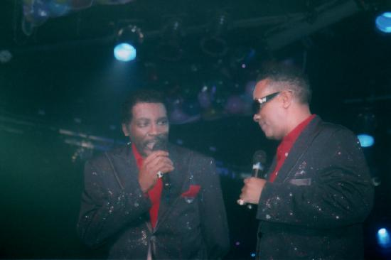 The Grand Majestic Dinner Theater: (Nate and Curtis)  The Temptations