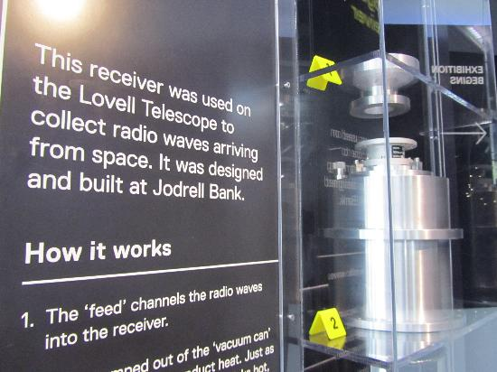 Jodrell Bank Discovery Centre: static display