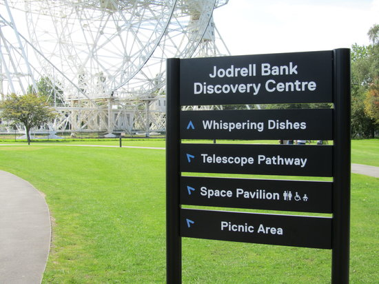 Jodrell Bank Discovery Centre: Outdoor walk