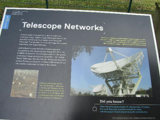 Jodrell Bank Discovery Centre: outdoor static display