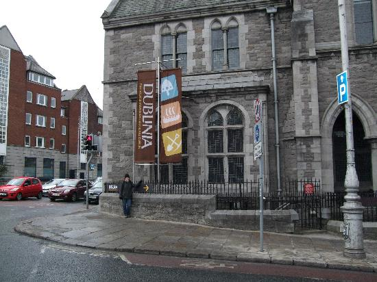 Dublinia: Experience Viking and Medieval Dublin: Walk down this street and you'll see the entrance to your left