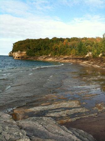Pictured Rocks National Lakeshore: From end of Mosquito trail