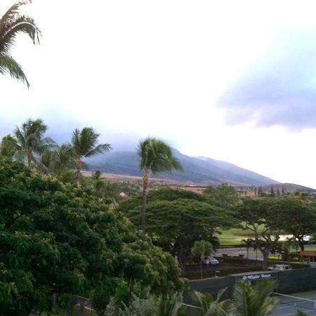 Kaanapali Beach Hotel: view from back of hotel