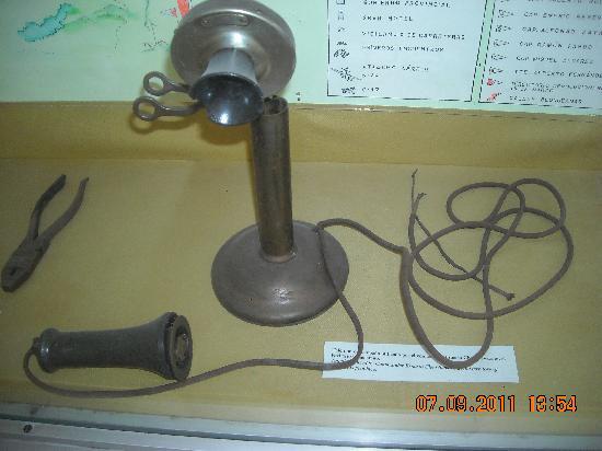 Museum of the Revolution (Museo de la Revolucion): Museo de la Revolución_Teléfono usado por el Che