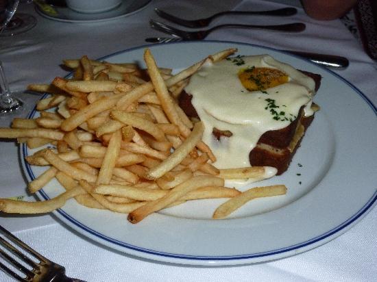 Bouchon: The croque monsieur & pommes frites