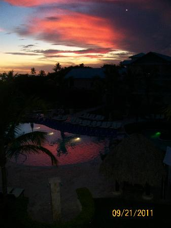 Dreams La Romana Resort & Spa: Sunset from our room