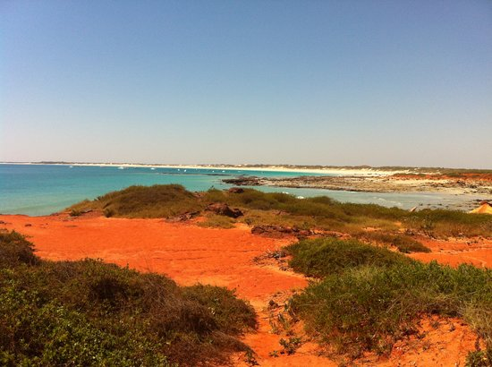 Broome, Australia: Looking back to Cable Beach