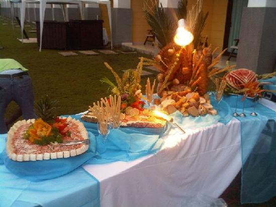 Playa Tortuga Hotel & Beach Resort: Excelente comida