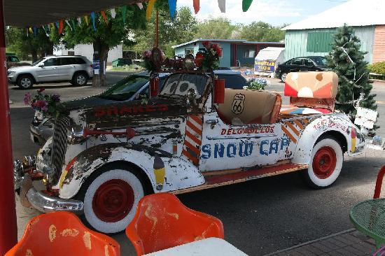 Delgadillos Snow Cap: The famous Snow Cap car