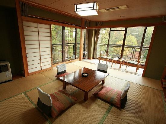 Hishino Onsen Tokiwakan: 長野県小諸 菱野温泉常盤館本館客室