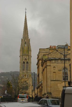 St John The Evangelist Church: Grand old spire
