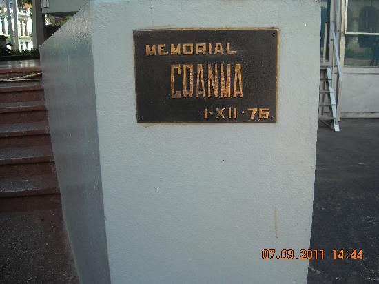 Granma Memorial: Entrada Memorial Granma