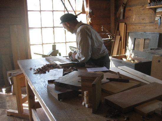 Living History Farms: Woodshop