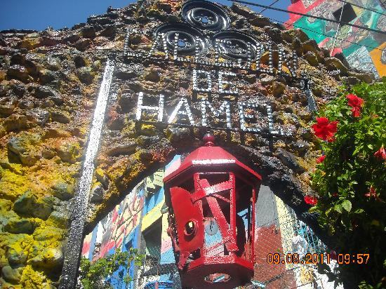 Callejon de Hamel: Callejon de Hammel_Entrada