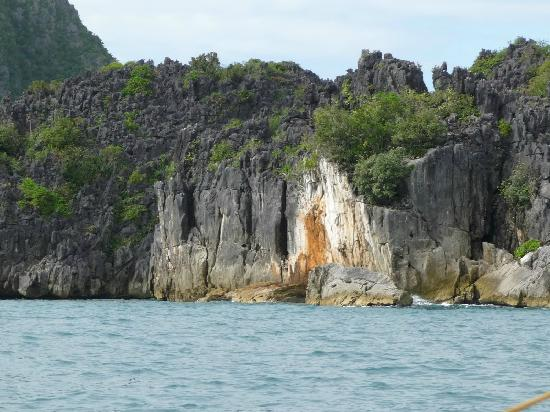 Caramoan, Φιλιππίνες: Limestone rocks of Matukad Is.