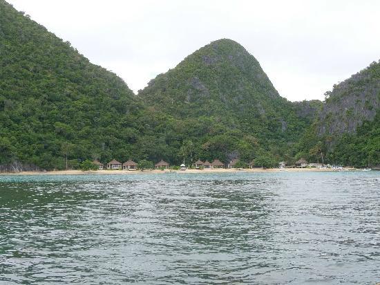 Caramoan, ฟิลิปปินส์: Gota Is resort