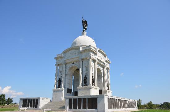 อุทยานทหารแห่งชาติเกตตีสเบิร์ก: The Pennsylvania Memorial