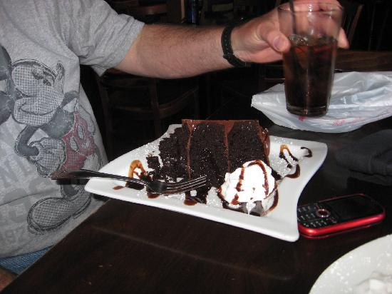 Kaminsky's Most Excellent Cafe: Death by chocolate cake.