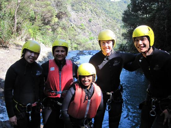 AWOL Canyoning Adventures: The Gang