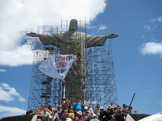 รูปปั้นพระเยซูคริสต์: コルコバード