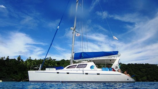 Aquarium Adventures: Our luxury Catamaran Two if by Sea