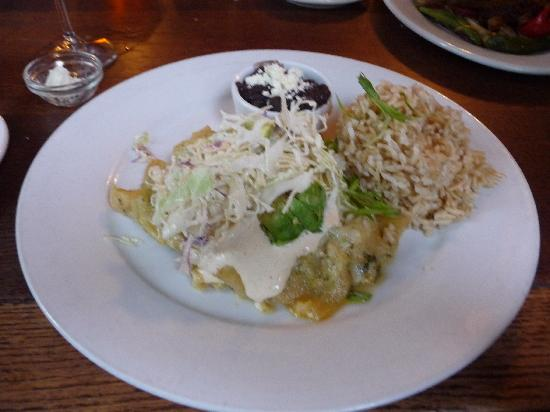 Robin's Restaurant: Lobster Enchiladas