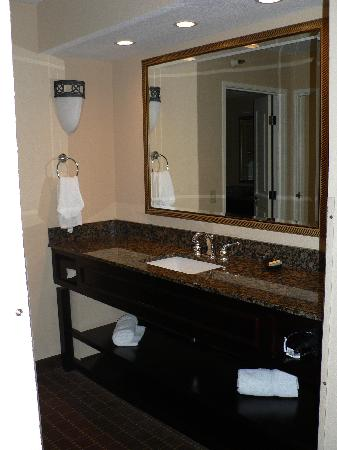 The Plaza Suites Silicon Valley: Bathroom