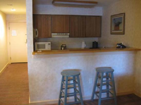 The Sagamore Resort: Lodge room Kitchen